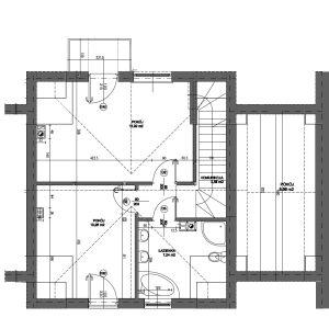 Dom w zabudowie szeregowej o powierzchni 108mkw